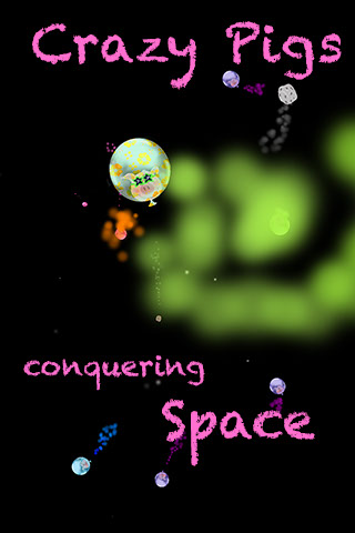 Crazy Pigs conquering Space - The new iPhone / iPad Touch /iPad Game from Mobilutions.eu
